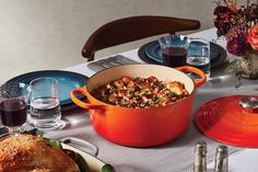 "Counting down to our ""Fall"" in Love with Le Creuset Day Event!  Don't forget to SAVE THE DATE Saturday 9-28-19 (from 11am-3pm). We hope to see you there!  Also don't forget to enter the drawing for your chance to win a #LeCreuset Round Oven!!! #fallinlovewithlecreuset #LeCreuset #Cookware #DutchOven #Braiser #Casseroles"