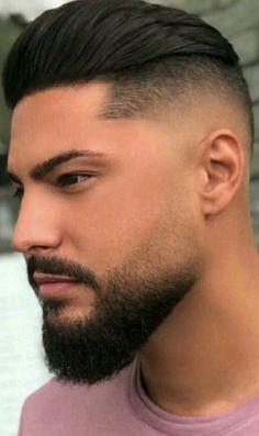 Faded Beard Styles, Beard And Mustache Styles, Beard Styles For Men, Beard No Mustache, Hair And Beard Styles, Short Hair Styles, Beard Fade, Sexy Beard, New Beard Style