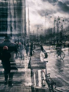 """urbanchaosphotography: """"'a glitch in space and time' Original multiple exposure photography by Thomas Vanoost. Multiple Exposure Photography, A Level Photography, Texture Photography, Urban Photography, Photography Backdrops, Abstract Photography, Photography Photos, Street Photography, Landscape Photography"""