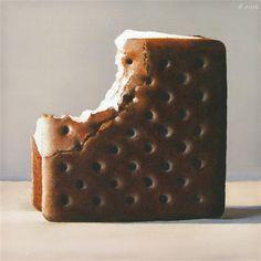 Ice Cream Sandwich by Oriana Kacicek