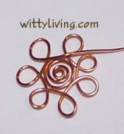wire wrap flowers earrings project  I would like to try with larger petals, but like the concept a lot