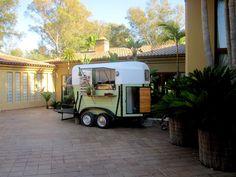 Horse box pizza trailer in Portugal:)