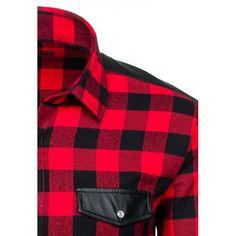 Pánska košeľa - flanelová Plaid Scarf, Fashion, Moda, Fashion Styles, Fashion Illustrations