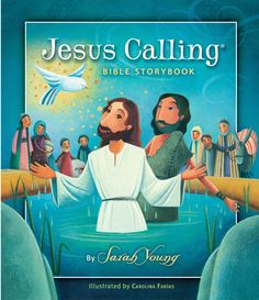 FREE coloring sheets in the style of the Jesus Calling Bible Storybook