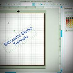 Links to Silhouette Studio tutorials.