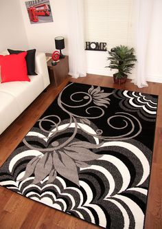 New Montego Modern Design Mats Small Medium Large Xl Thick Soft Floor Rugs Ebay