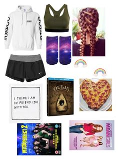 """""""Untitled #470"""" by peanut03411 ❤ liked on Polyvore featuring NIKE and Yumi"""