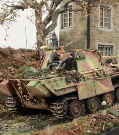 Panther Ausf.G, amazing paintjob!