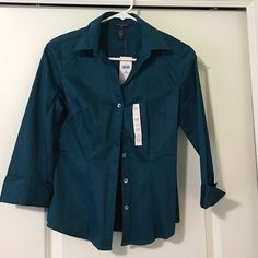 I need 10 sales. Brand new Banana Top Brand new with tags. Woman's BR top Banana Republic Tops Button Down Shirts