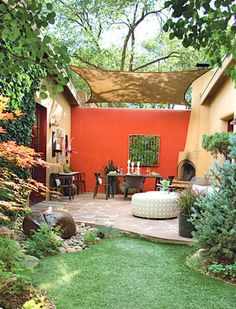 How to Create an Outdoor Living Room via @PureWow