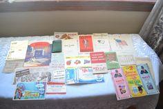 Vintage Junk Drawer Lot All Ephemra Paper Advertising Collection