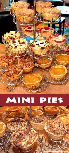 Mini Pies for Thanksgiving - Two Sisters Crafting