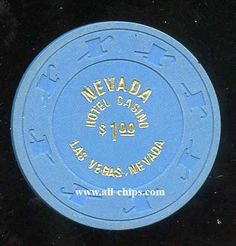 #LasVegasCasinoChip of the Day is a $1 Nevada Hotel w/ small print you can get here https://www.all-chips.com/ChipDetail.php?ChipID=18382 #CasinoChip #LasVegas