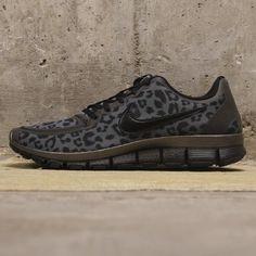 $99.96 discount to $49.98 Nike Free 5.0 V4 Black and Cheetah print