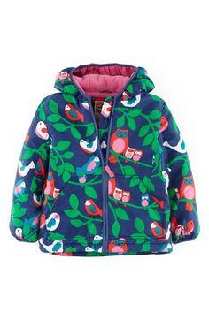 Mini Boden Fleece Lined Anorak (Toddler Girls, Little Girls & Big Girls)