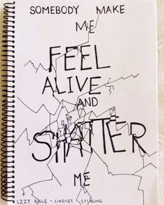 Shatter Me - Lindsey Stirling feat. Lzzy Hale . by Jackie vds I think? Awesome Shattered Letter Design