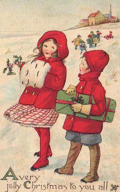 人生在世 (bumble button: More darling Christmas antique...)