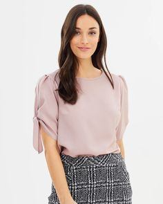 Buy Puff Sleeve Tee by Dorothy Perkins online at THE ICONIC. Free and fast delivery to Australia and New Zealand.