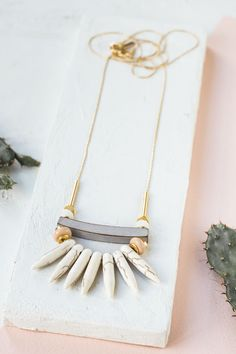 Arisona Necklace from the Spring Summer Palm Springs Jewelry Collection by Shlomit Ofir