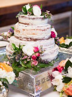 Featured photographer: Cory Ryan Photography; Elegant wedding cake idea
