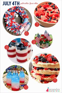 Amanda's Parties TO GO: July 4th Ideas