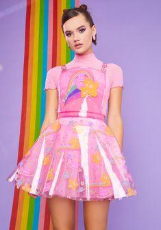 Harajuku Fashion, Kawaii Fashion, Moda Aesthetic, Corduroy Pinafore Dress, Kawaii Clothes, Pastel Goth Clothes, Overall Dress, Character Outfits, Look Cool