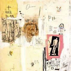 """Big Shoes"" by Jean Michel Basquiat"