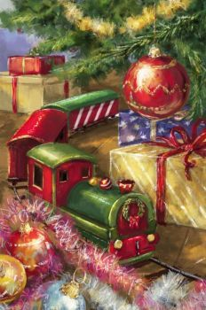 Christmas Train by Marcello Corti Christmas Train, Old Christmas, Old Fashioned Christmas, Christmas Scenes, Retro Christmas, Christmas Greetings, Christmas Crafts, Christmas Decorations, Christmas Express