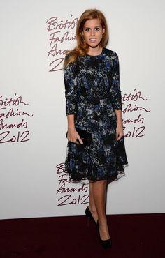Princess Beatrice of York at the British Fashion Awards