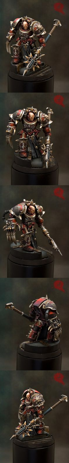 SPAIN 2011 Madrid - Warhammer 40,000 Single Miniature - Demon Winner, the unofficial Golden Demon website