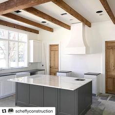 """122 Likes, 4 Comments - Higgins company (@antiquewoodsource) on Instagram: """"Those beams. @scheffyconstruction knows how to make us look good. #higginscompany…"""" #HowtoLookGood"""
