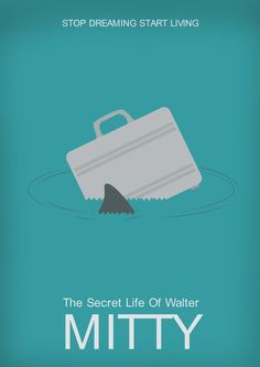 The Secret Life of Walter Mitty (2013) ~ Minimal Movie Poster by Aakriti Gupta