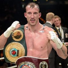 Germany's Mario Daser wins over Uk's Ola Afolabi in the IBO International Title Match