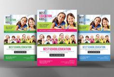 School Education Flyer  @creativework247