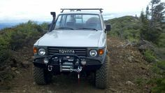 Fj60 Toyota Land Cruiser @ Grouse Ridge Overlook