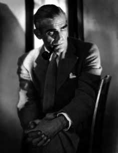 Portrait of Boris Karloff by Jack Freulich, 1930's
