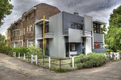 Schroder House, Gerrit Rietveld Utrecht, Netherlands 1925