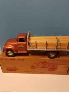 1958 Custom Tonka Logger With Pup TOYS, Collecting Toy