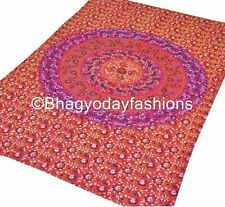 Indian Mandala Wall Hanging Tapestry Throw Bedspread Ethnic Decor Wall Art