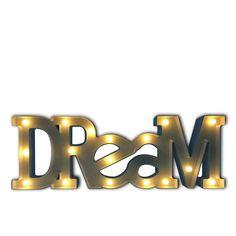 Letras Luminosas Decorativas DREAM