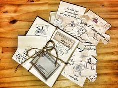 vintage puzzle invitation