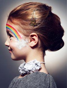 Un maquillage de fête pour enfant !