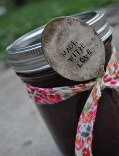 Sweet Vintage Spoon for homemade Jam