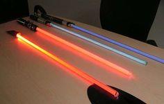 Maker-space - MAKE your own light saber (high tech) way cool idea!