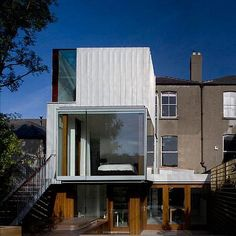 * Residential Architecture: Matilde House by Ailtireacht Architects Roof Architecture, Residential Architecture, Contemporary Architecture, Beautiful Architecture, Contemporary Style, Roof Styles, House Styles, Zinc Cladding, Modern Roofing