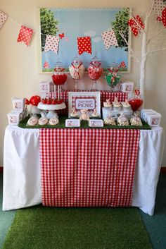 Teddy Bear Picnic Birthday Party Ideas | Photo 2 of 10 | Catch My Party