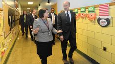 Gov. Wolf on increased school spending: 'This is what the people want'  Coming back to the Allentown school where he pledged last fall to make education a top priority, Gov. Tom Wolf once again underscored the need for more funding and reform in public education.  http://www.mcall.com/news/local/allentown/mc-allentown-wolf-visit-muhlenberg-school-20150306-story.html