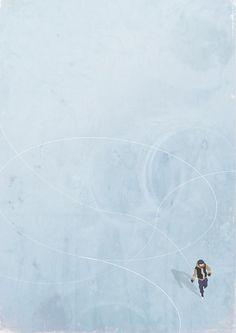 Belhoula Amir- Illustrating Loneliness (via http://TheFoxIsBlack.com)
