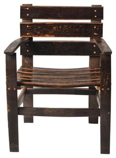 San Pedro Reclaimed Barrel Arm Chair