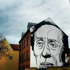 Street art in Odense, Denmark